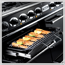 Glide-out grill