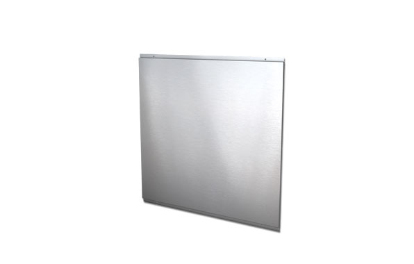 Select 90 steel splashback